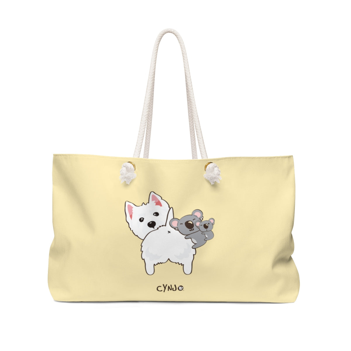 Westie Weekender Bag - NOTHING BUTT LOVE