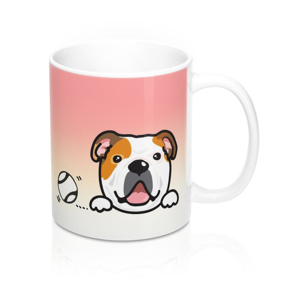 "Mug ""My Cup Of Tea"" English Bulldog"