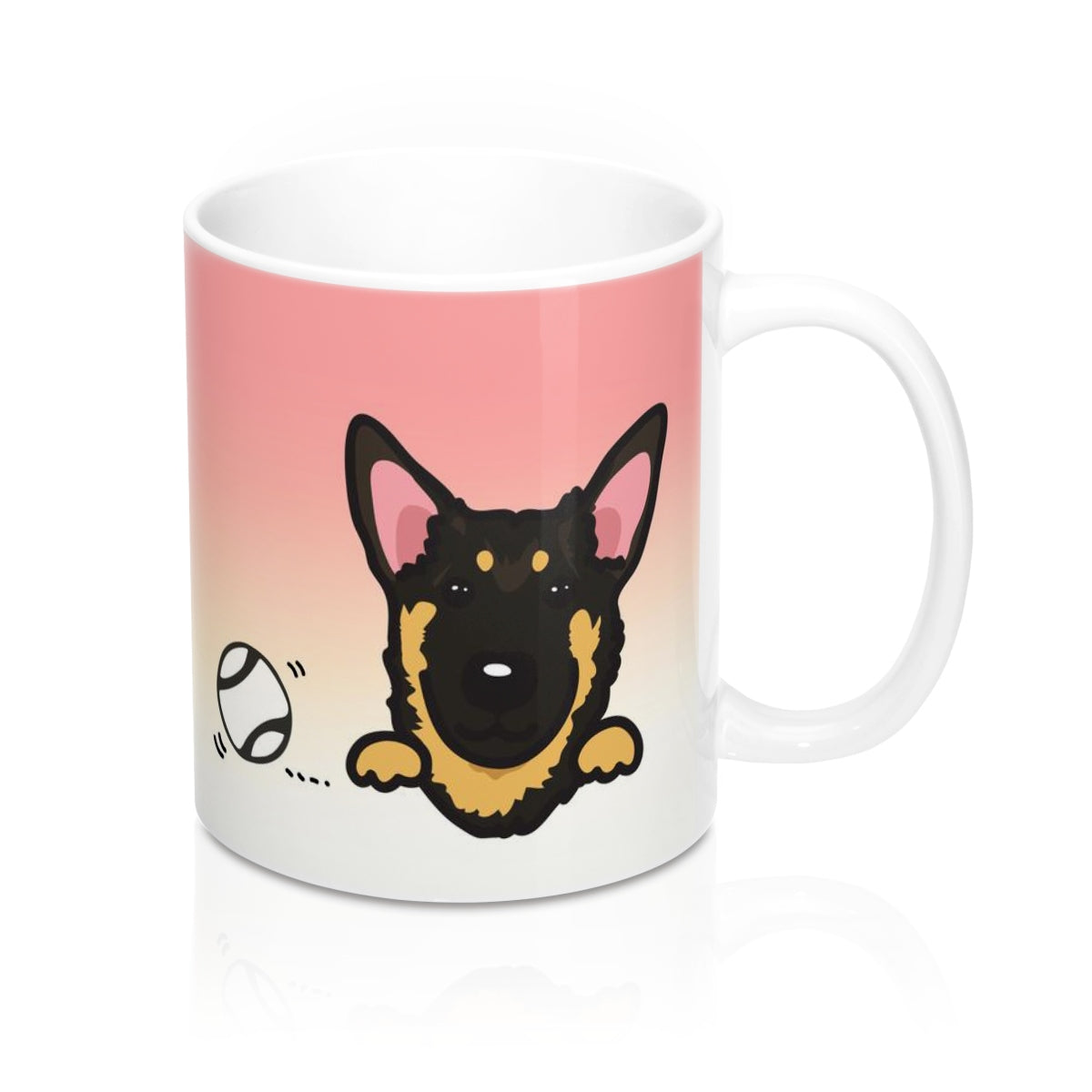 "Mug ""My Cup Of Tea"" Taiwan Dog"