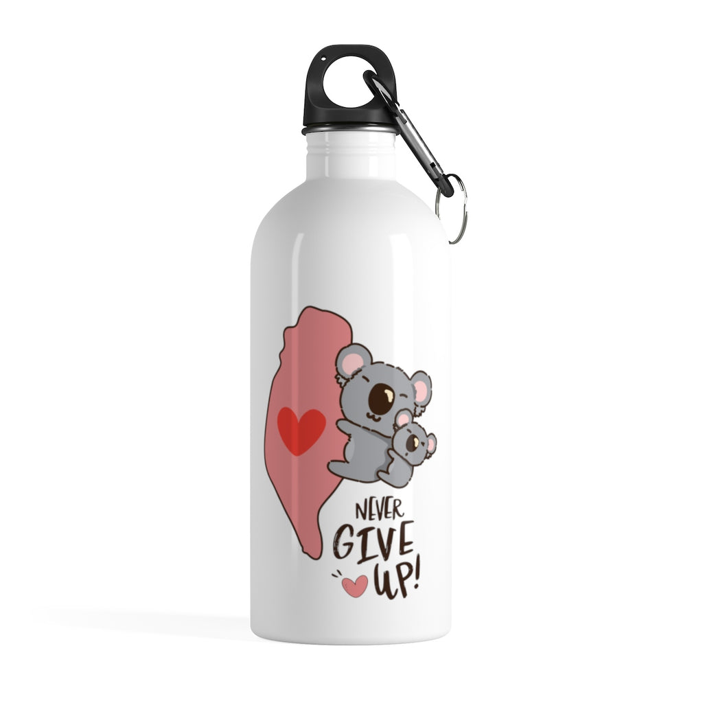 Stainless Steel Water Bottle - SENDING LOVE FROM TAIWAN