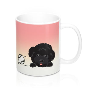 "Mug ""My Cup Of Tea"" Black Poodle"