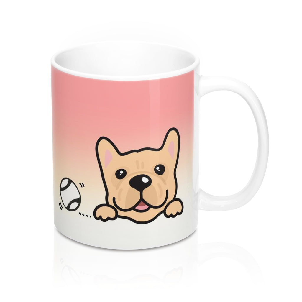 "Mug ""My Cup Of Tea"" Cream Frenchie"