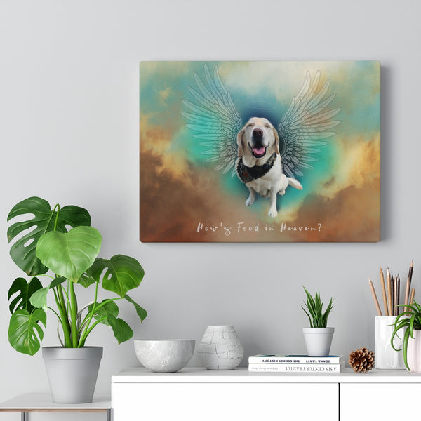 Custom • Canvas Gallery Wraps • Angel Wings