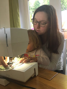 How did you get in to sewing? - by Jackie Barry