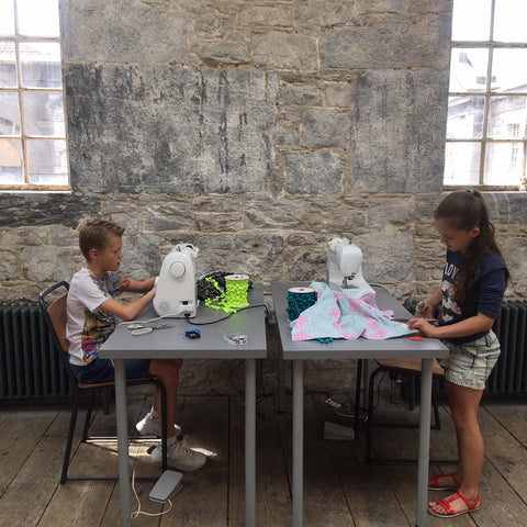 Children's Sewing at Make