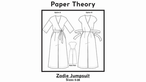 Zadie Jumpsuit by Paper theory