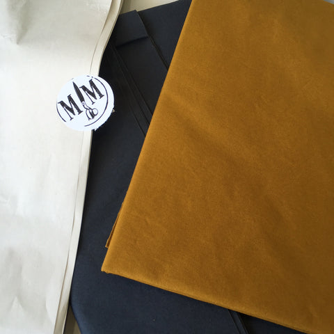 Merchant and Mills fabric delivery