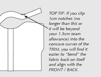 A section of instructions