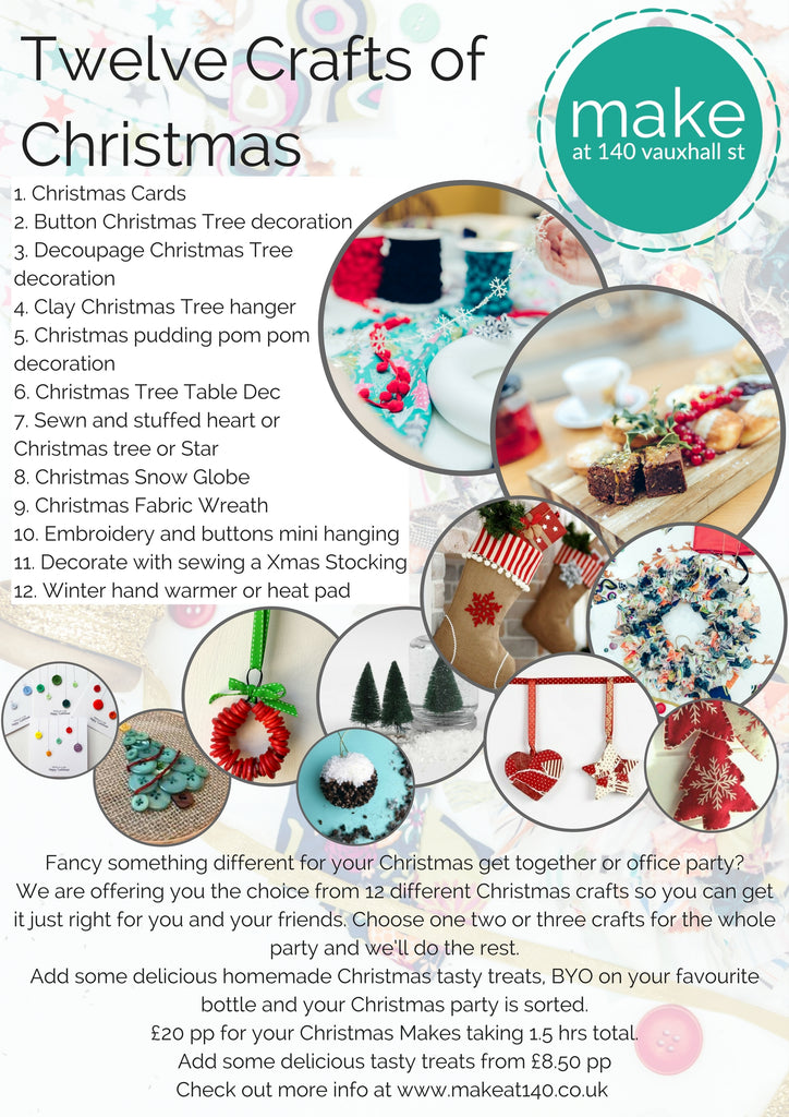 Twelve crafts of Christmas