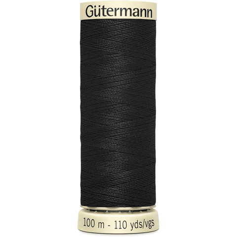 Gütermann Polyester Sew-All Thread 100m - Blacks, Whites and Greys