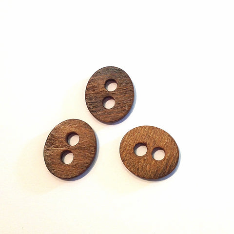 Dark-wooden-oval-button
