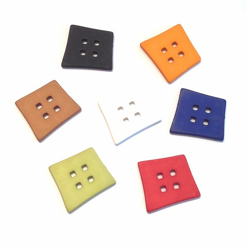 Big Abstract Square Button
