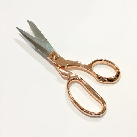 Rose Gold Premium Dress Making Shears by Hemline