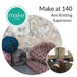 Arm Knitting Experience Gift