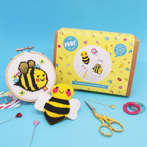 Bumblebee Crafternoon Set by The Make Arcade