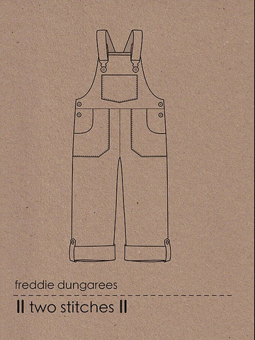 Freddie Dungarees by Two Stitches
