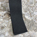 50 mm Wide Black Flat Elastic