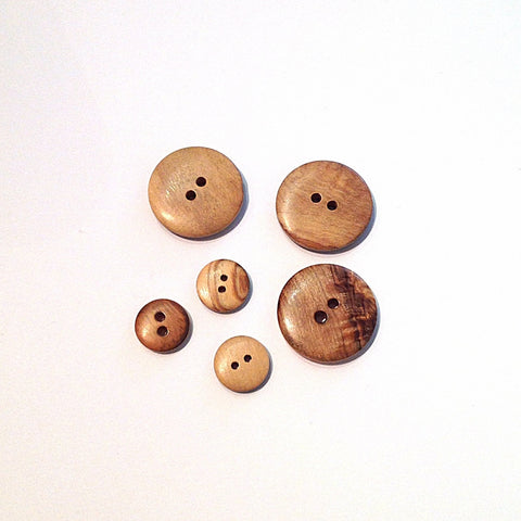 Wooden-round-button