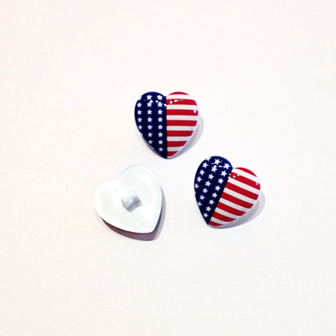 Heart-shaped-American-shanked-button