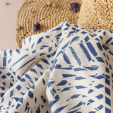 Shade Cobalt Viscose Fabric by Atelier Brunette