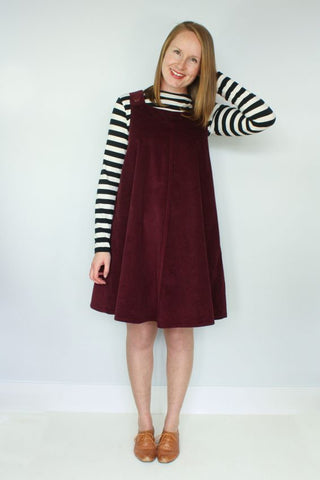 Ivy Pinafore Pattern by Jennifer Lauren