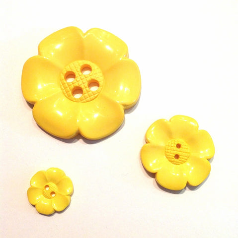 Yellow-flower-button