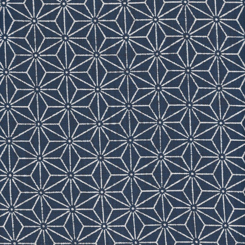 Grid Indigo 100% Japanese Cotton by Sevenberry