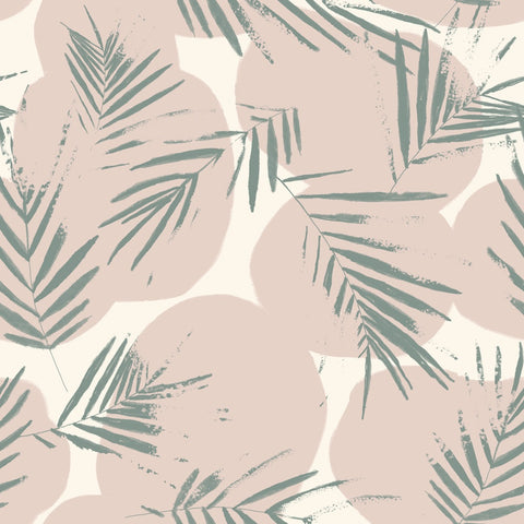 Canopy Cactus Viscose Crepe Fabric by Atelier Brunette