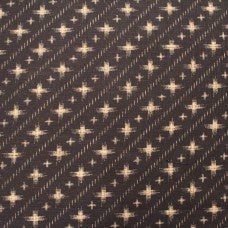Splodged Crossed Indigo 100% Japanese Cotton by Sevenberry