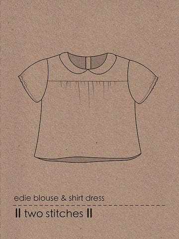 Edie Blouse & Shirt Dress by Two Stitches