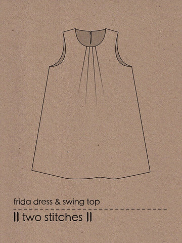 Frida dress & Swing top by Two Stitches