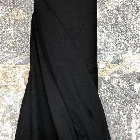 Organic Cotton Jersey Fabric Black