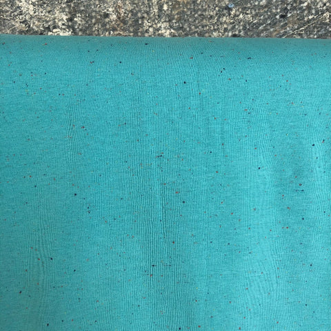 Cosy Colours Turquoise Blue Sweatshirt Fabric