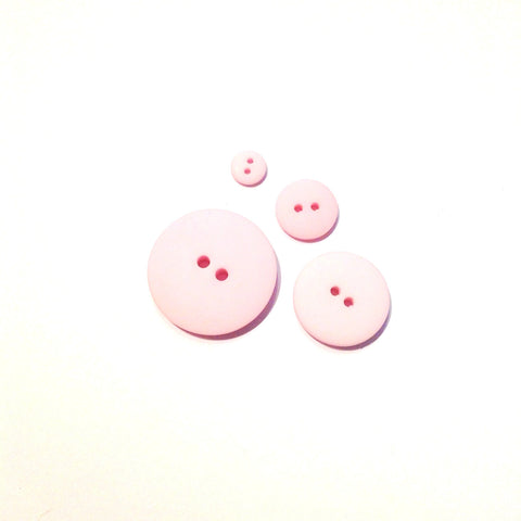 Pale Pink Matte Button