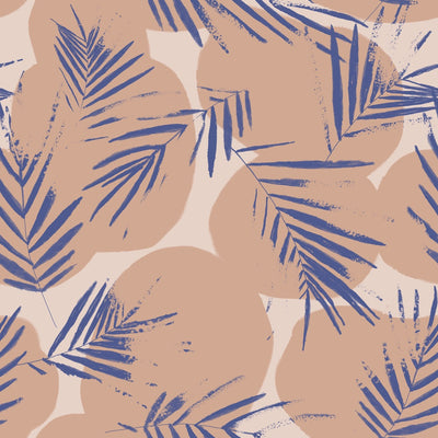 Canopy Cobalt Viscose Crepe Fabric By Atelier Brunette