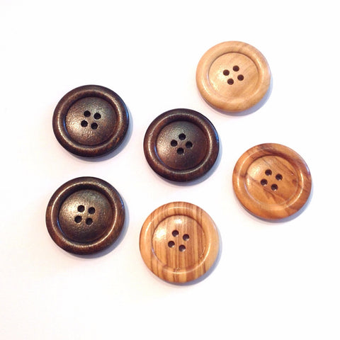Chunky Wooden Button