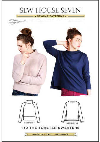 The Toaster Sweater Pattern by Sew House Seven