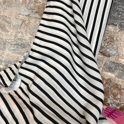 Classic Striped Rayon Fabric by Art Gallery