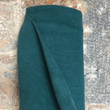 Ramie Eco-Friendly Fabric Peacock Green