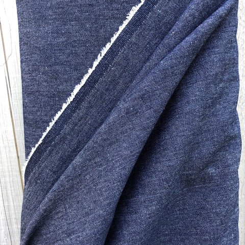 Dark Blue Mid Weight Denim Fabric