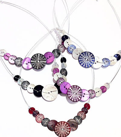 colourful-Celeste -Button -Necklace