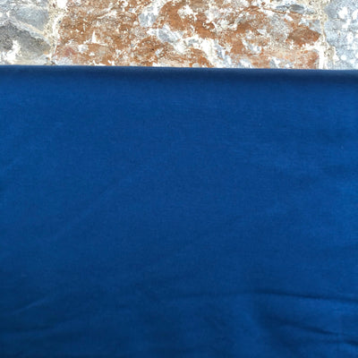 Denim Blue Ponte Roma Fabric