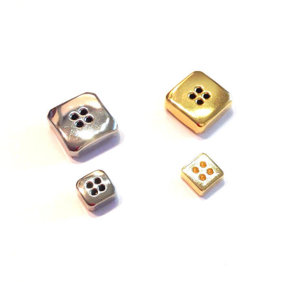 Metal-square-button