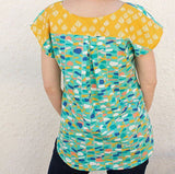 The Bondi Top Pattern by Sew to Grow