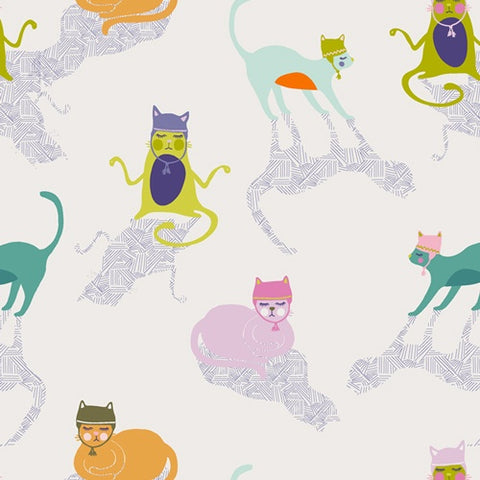 Kitten Around in Cotton by Art Gallery Fabric