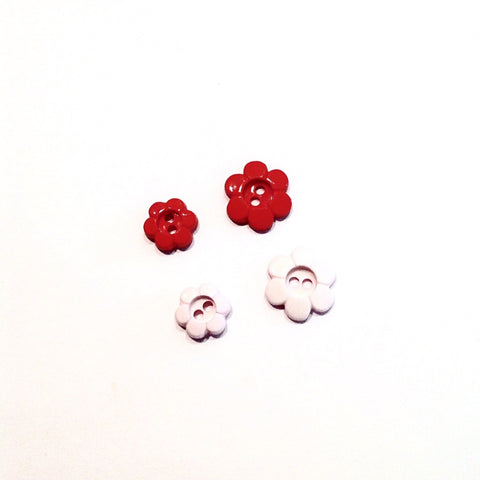 Simple Flower Shaped Button