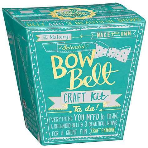 The Makery - Bow Belt Kit