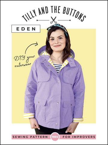 Eden Coat Pattern by Tilly and the Buttons