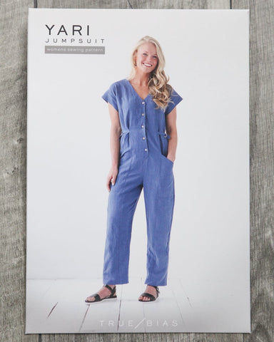 Yari Jumpsuit Pattern by True Bias