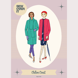 Chloe Coat Sewing Pattern by Sew Over It